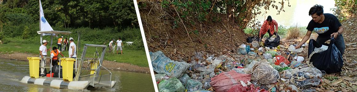 Mit dem Verein One Earth- One Ocean sorgen wir dafür, dass ein weiterer Plastiksammler in Kambodscha beschäftigt werden kann.