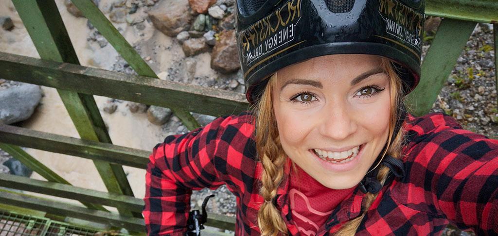 Mountainbikerin, Mutter, Naturliebhaberin