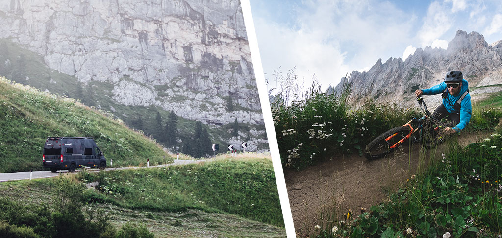 Oli Dorn ist das ganze Jahr mit seinem Bike im Camper unterwegs. Dabei bekommt er die wahre Schönheit der Natur zu Gesicht.